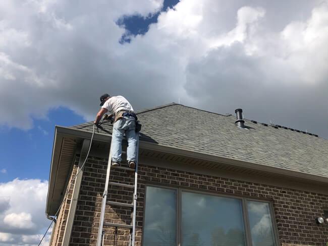 Florida Lightning Rod Installation